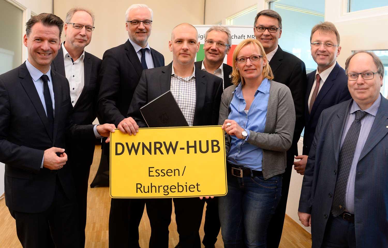 DWNRW-HUB Essen / Ruhrgebiet