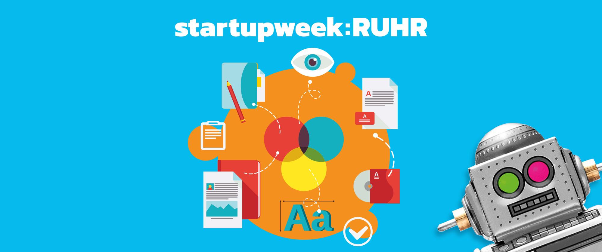 Camp Essen - Startupweek 2018 Branding