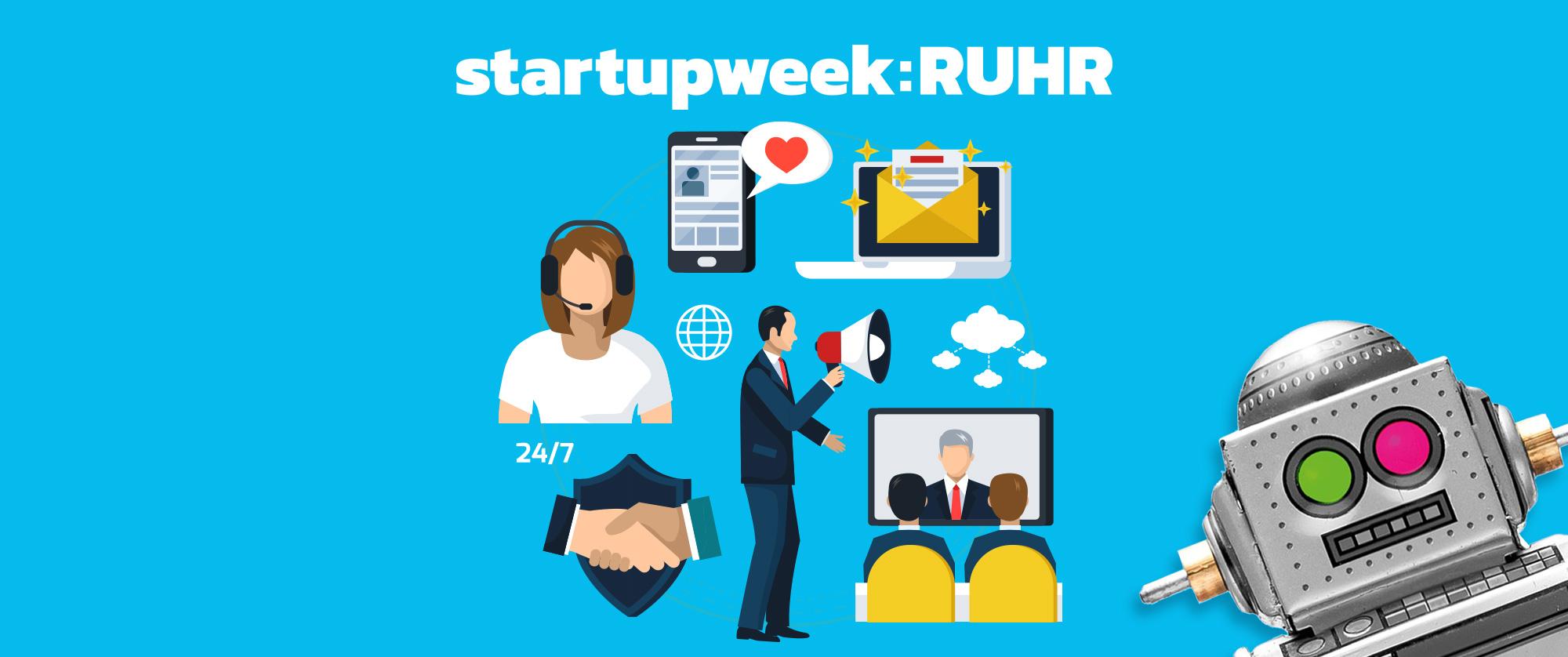 Camp Essen - Startupweek 2018 Kaltakquise