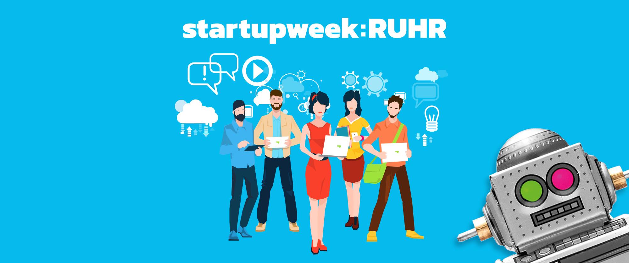 Camp Essen - Startupweek 2018 Women only - Netzwerken