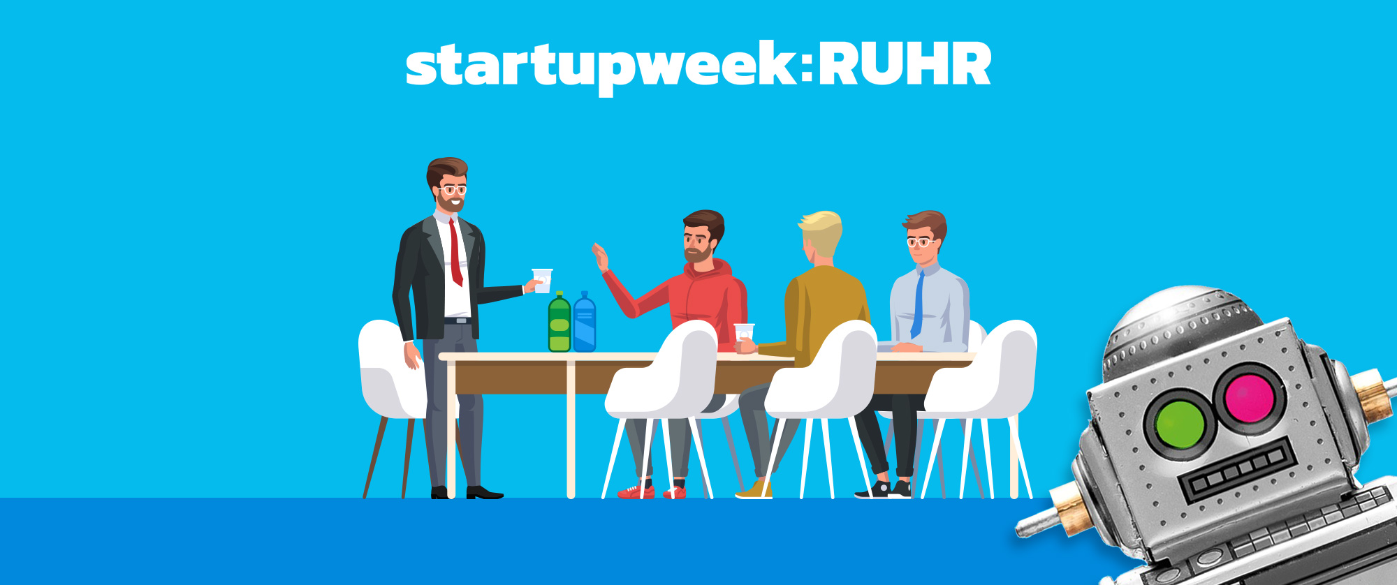 Camp Essen - Startupweek 2018 Kommunikation