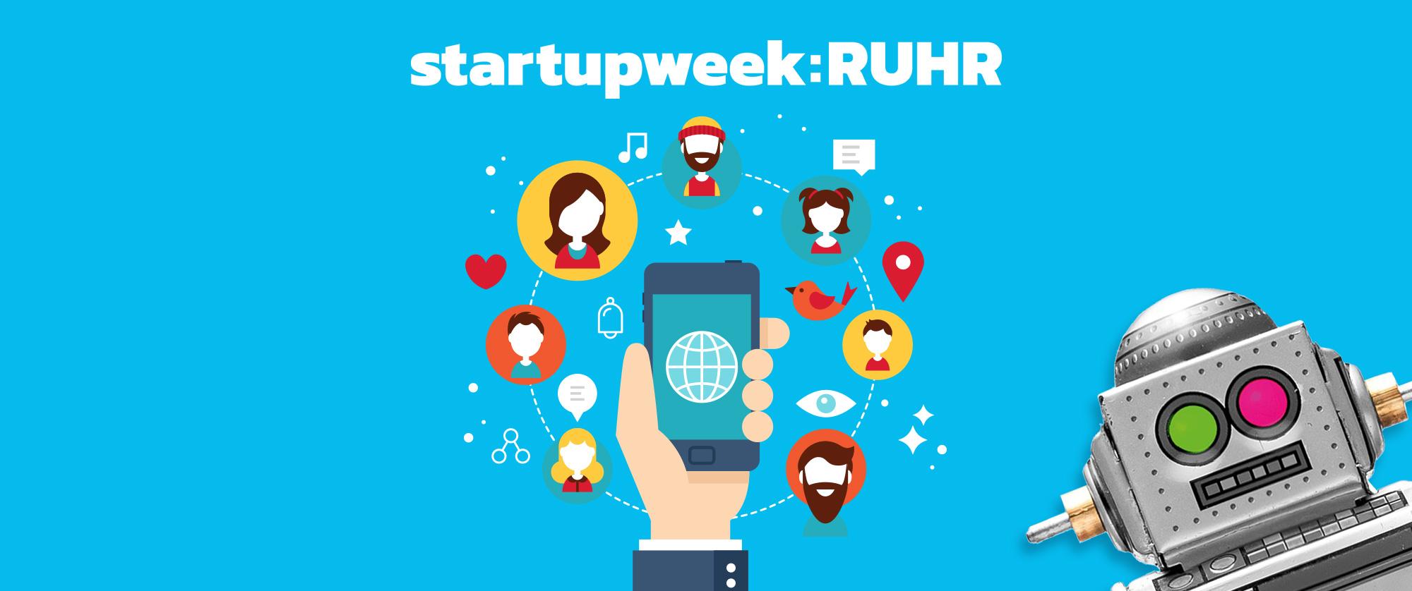Camp Essen - Startupweek 2018 Social Media