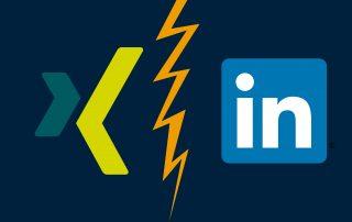 Camp Essen - XING vs LinkedIN