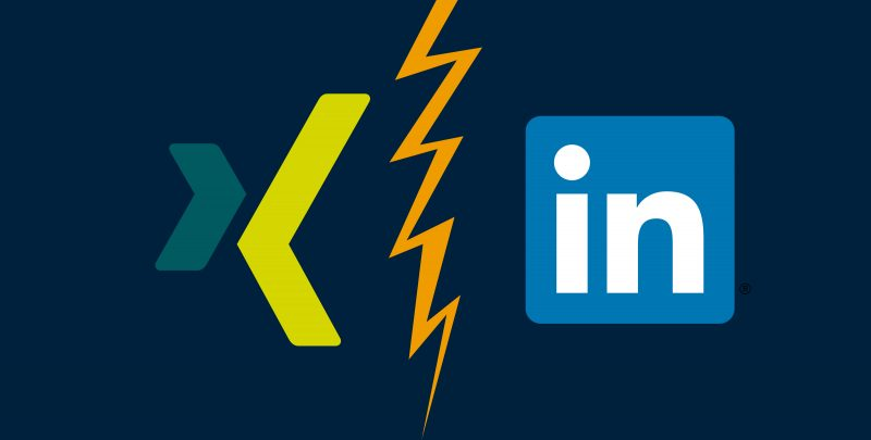 Camp Essen - XING vs LinkedIN